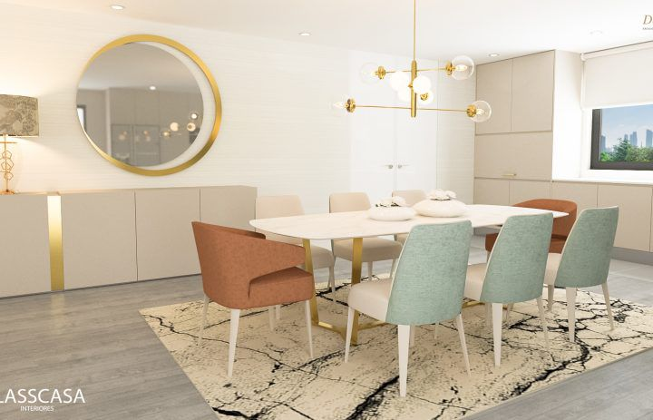 dinning room- design - classcasa