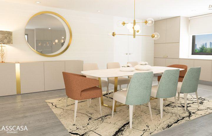 sala de jantar - design - classcasa